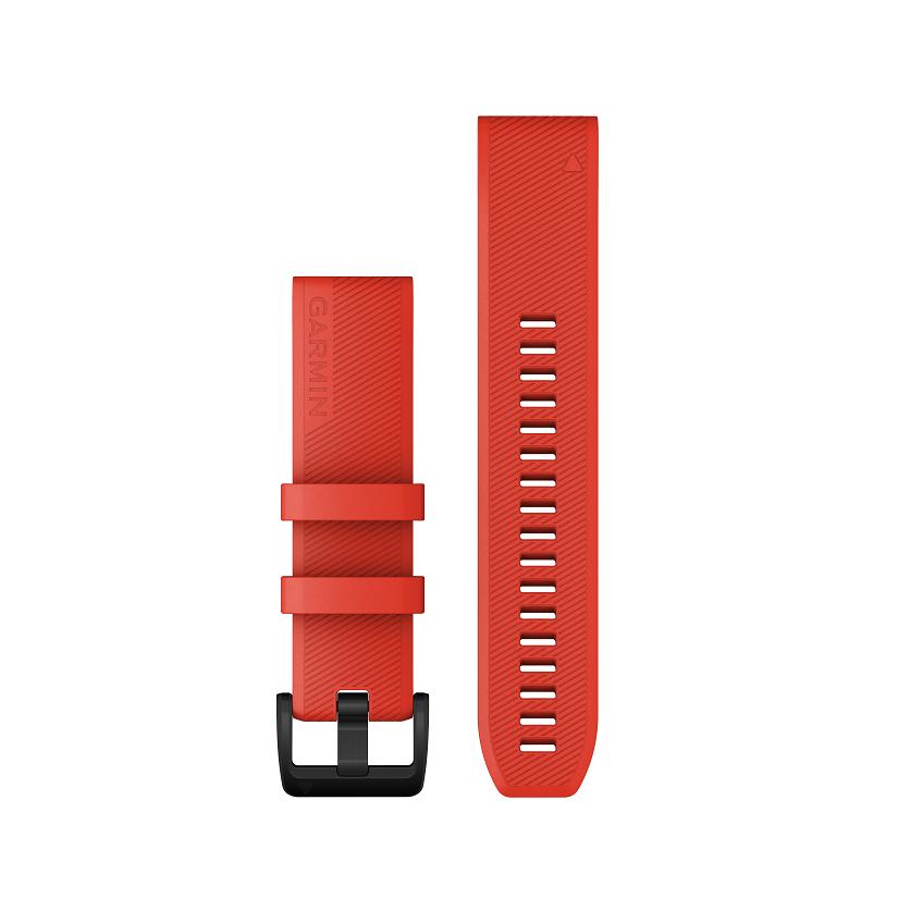 Garmin  QUICKFIT™-ARMBÄNDER 22mm Silikon Rot