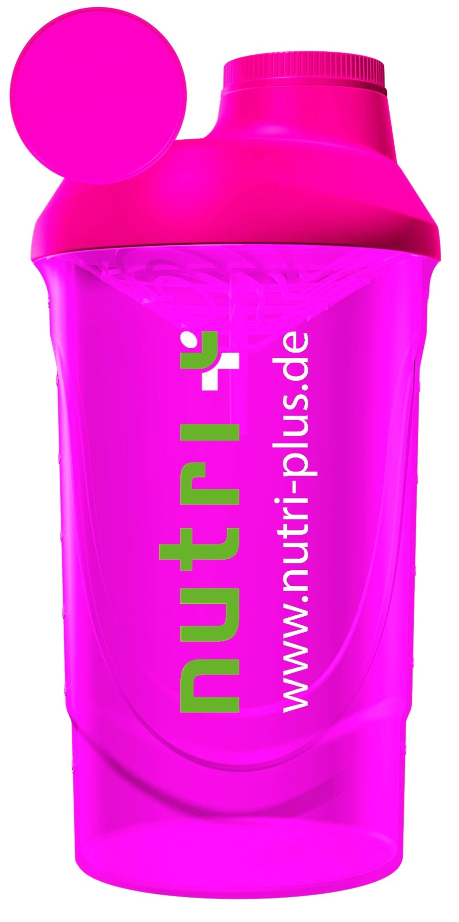 nutri+ Eiweiß + Fitness Shaker (pink)