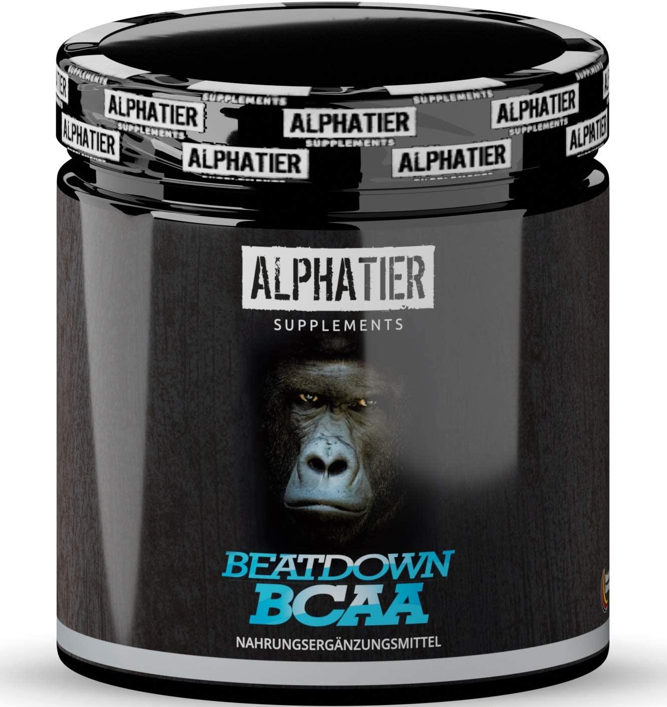 Alphatier Beatdown BCAAs ohne Zusatzstoffe und Gelatine