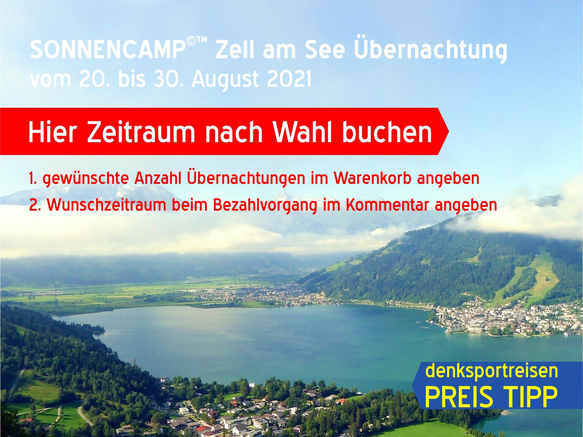 SONNENCAMP©™ Zell am See - Einzelbaustein Übernachtung   3.5* Hotel   Preis pro Person pro Nacht