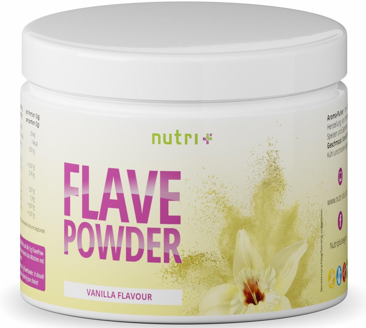 nutri+ Flave Powder - ohne überflüssige Kalorien