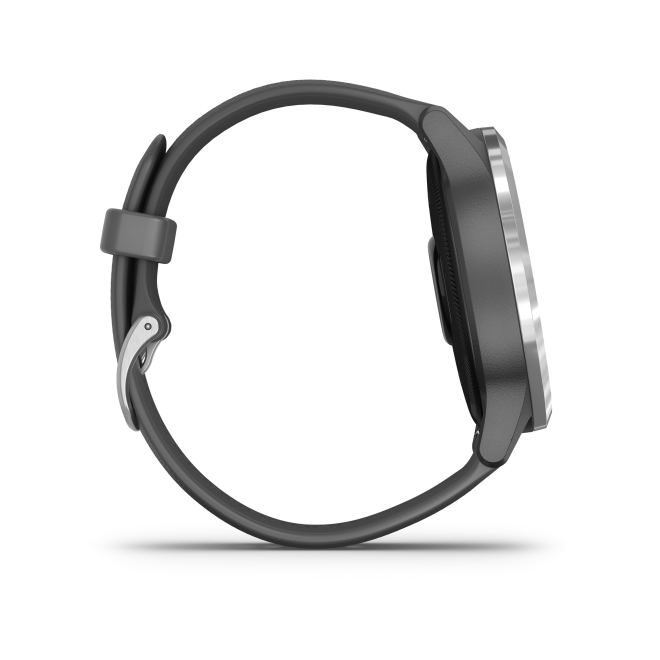 Garmin VIVOACTIVE 4 Grau/Silber Metall-Luenette 22mm
