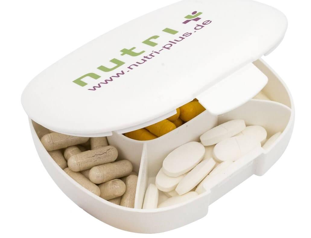 nutri+ Kapsel- & Tablettendose