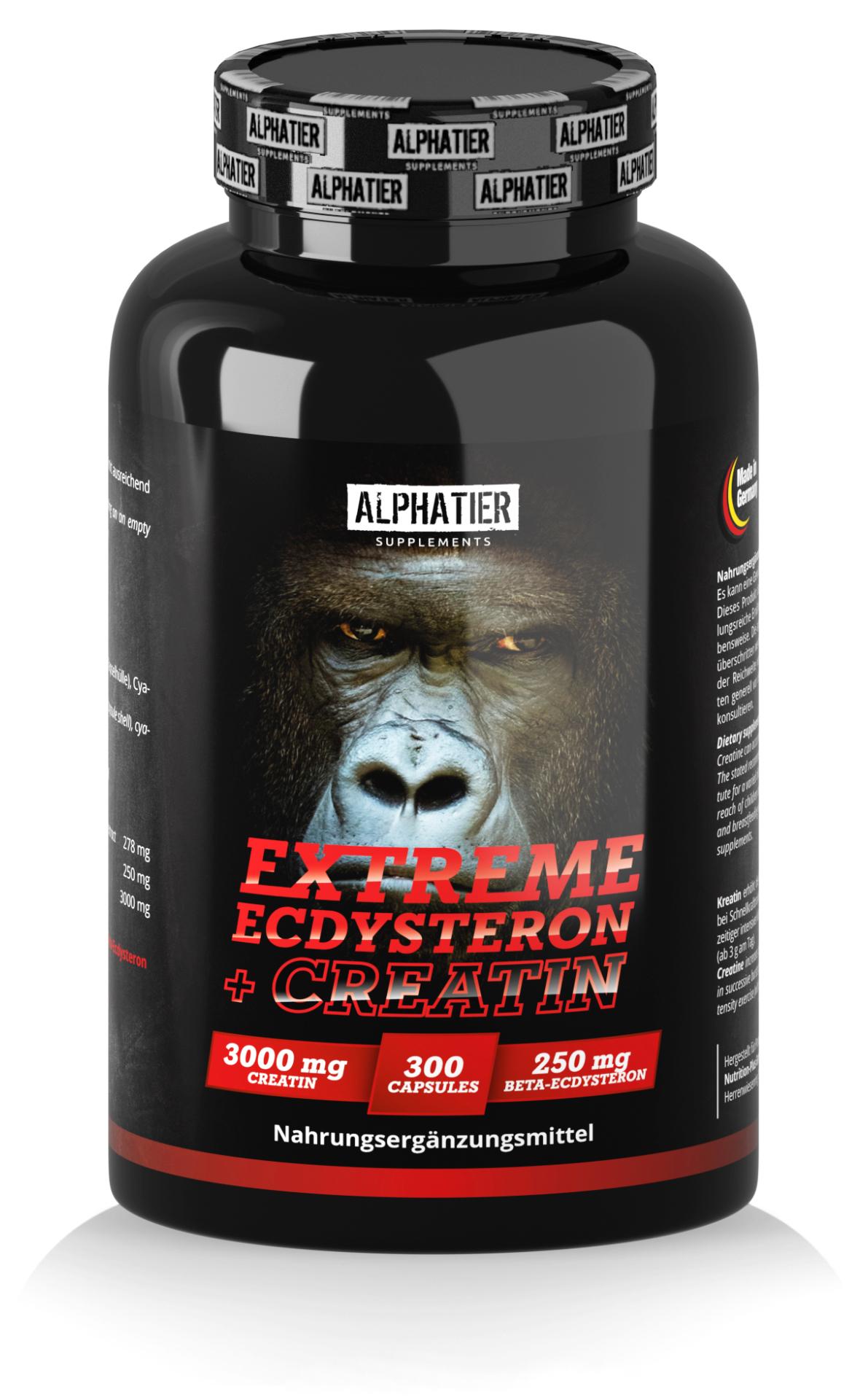 Alphatier Extreme Ecdysteron + Creatin - Alphatier Supplements