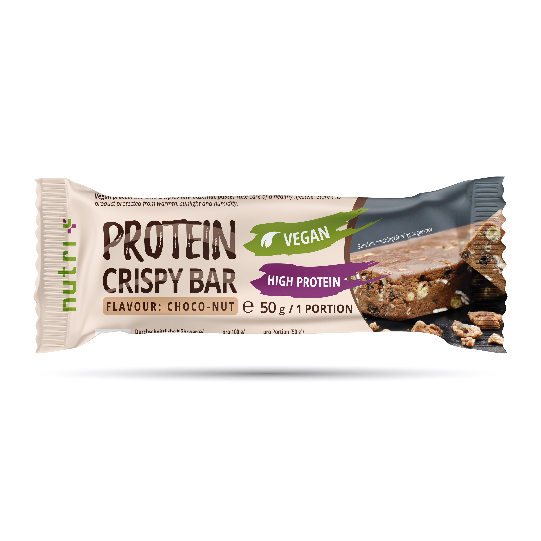 nutri+ Crispy Bar - Vegan Protein-Riegel