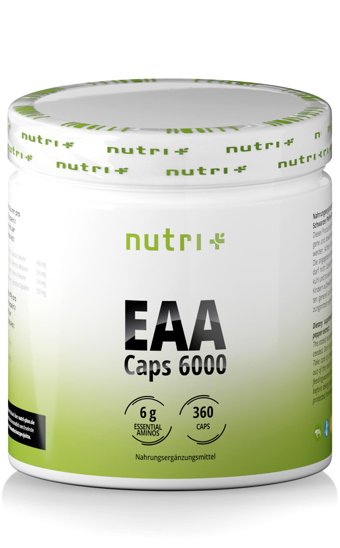 nutri+ EAA Kapseln