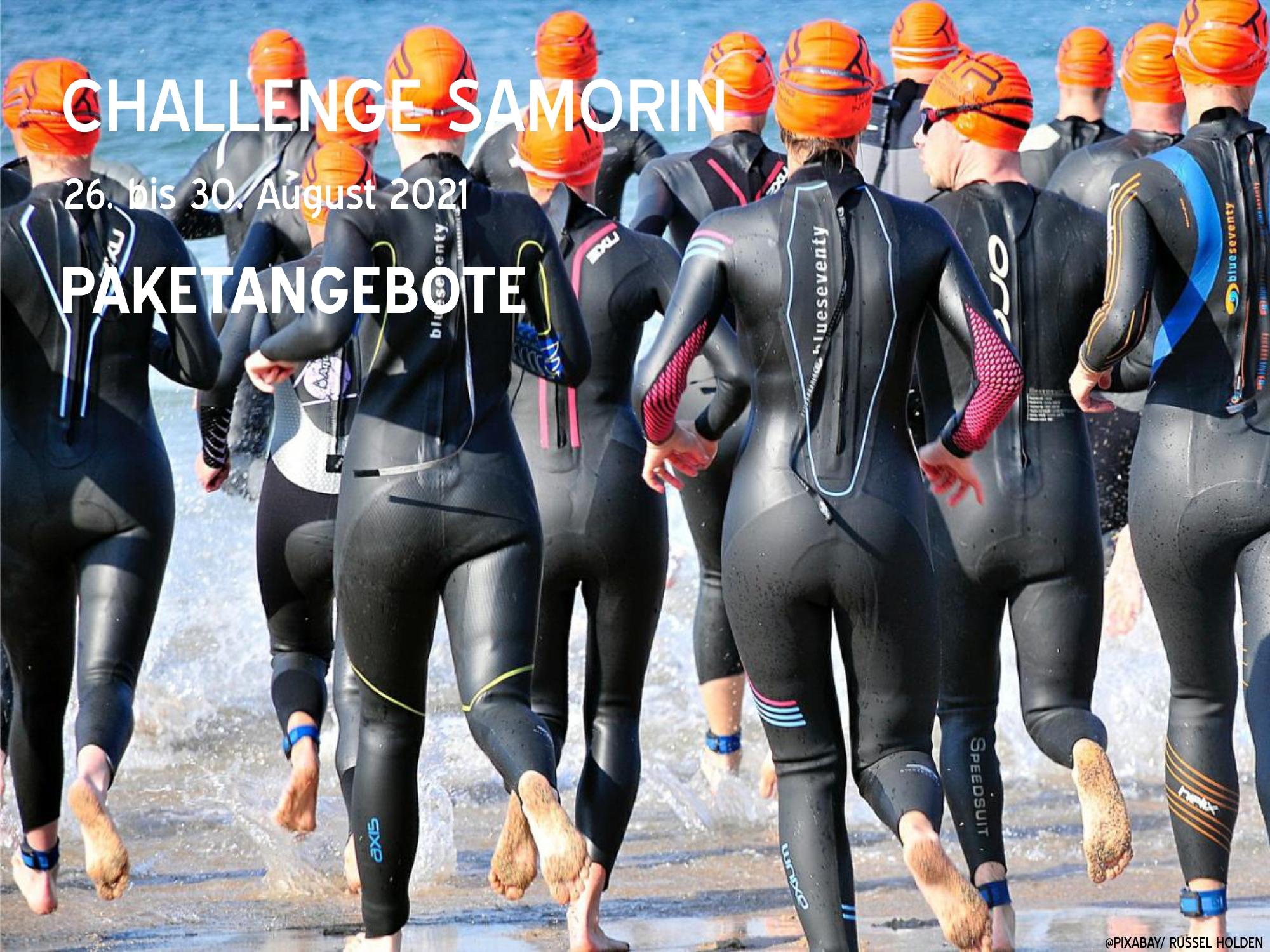 Challenge Samorin - The Championship | 26.08. - 30.08.2021 | Gesamtbetrag 818,00€ im Doppelzimmer pro Person