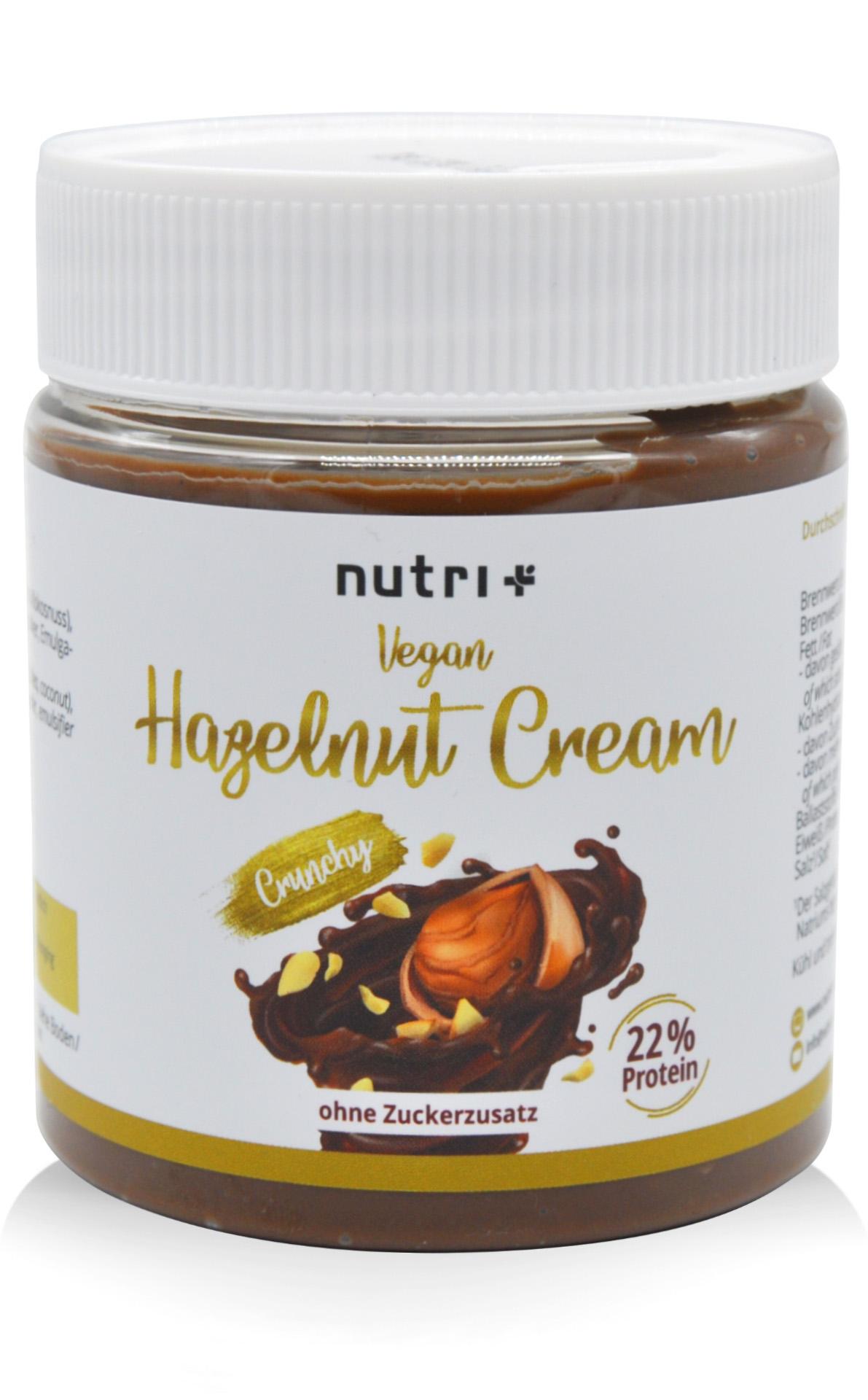 nutri+ Vegan Hazelnut Cream - Protein-Aufstrich