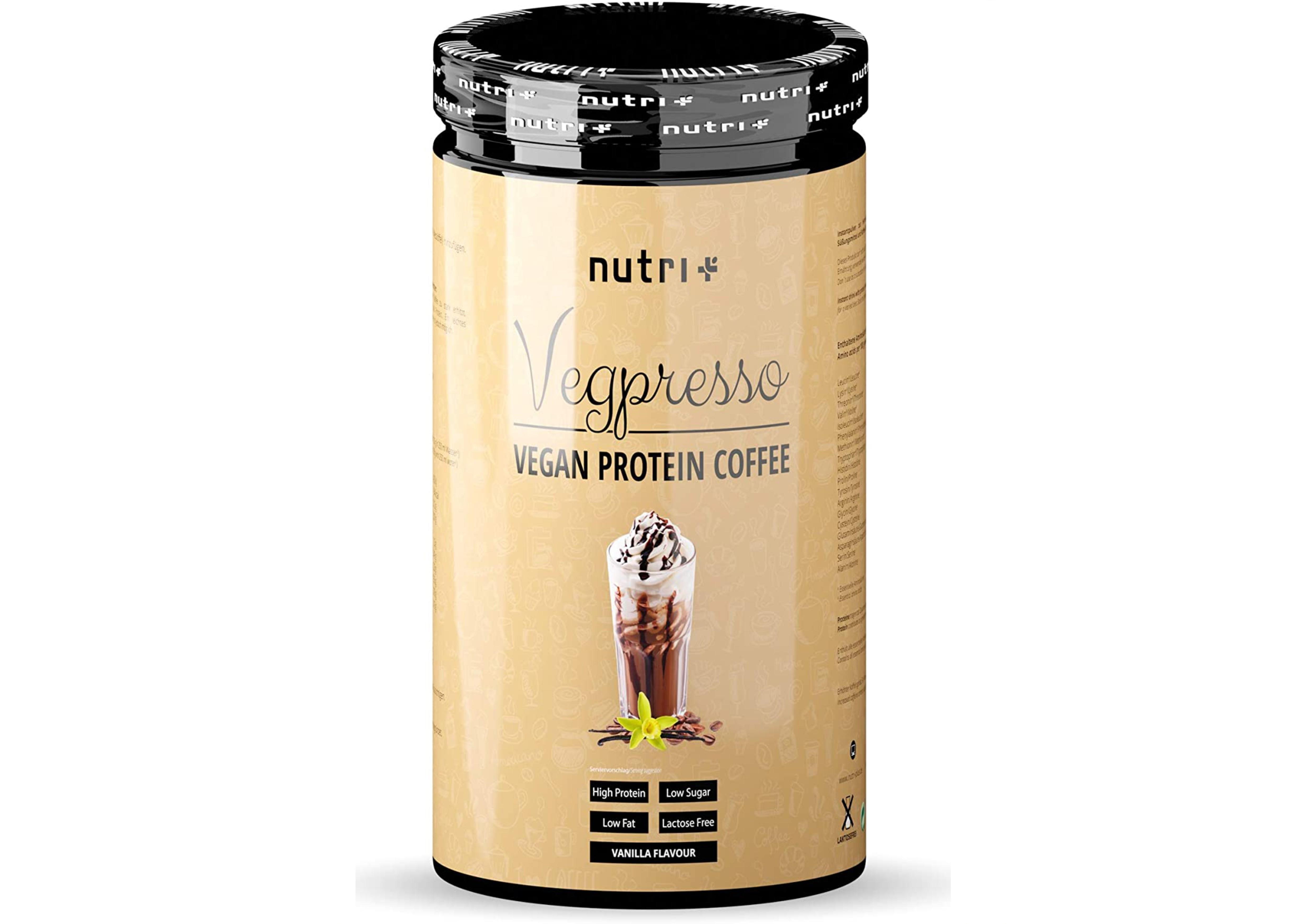 nutri+ Vegpresso Protein-Kaffee