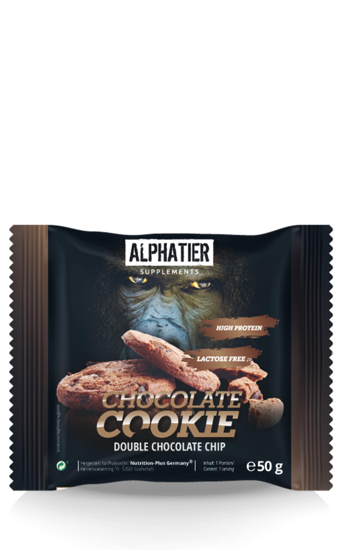 Alphatier Chocolate-Cookie Protein Cookie 50g